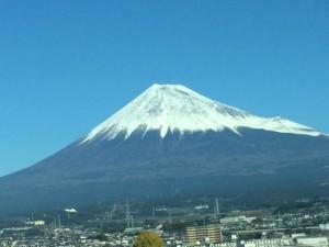 11月の富士山